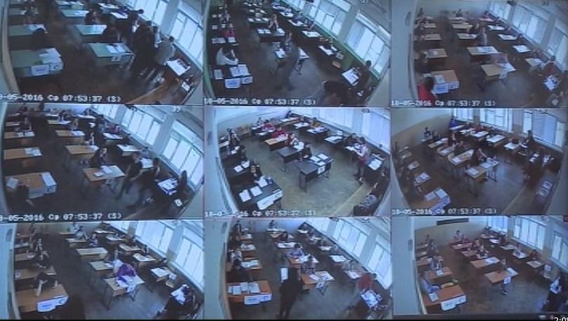 около 4000 камери видеонаблюдение матурите