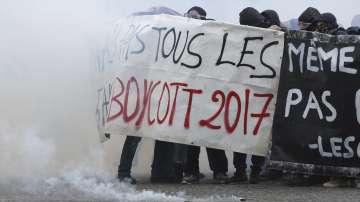 Сблъсъци по време на първомайските шествия в Париж