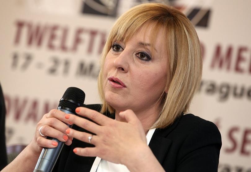 Манолова представя пакет от законодателни предложения за работата на съдилищата