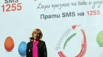 Мая Манолова дава началото на кампанията Великден за всеки