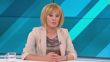 Мая Манолова: Битката за кмет на София не е между ГЕРБ и БСП