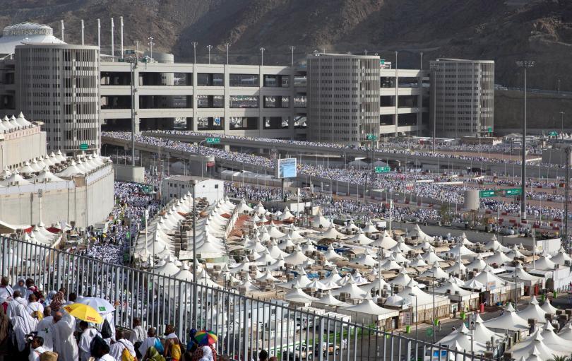 снимка 1 2,5 милиона мюсюлмани участваха в традиционен ритуал в Мека