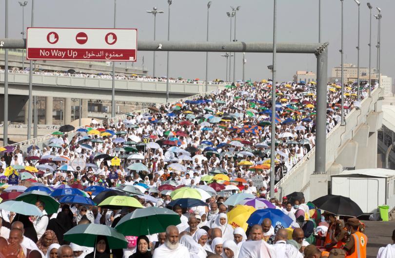 снимка 2 2,5 милиона мюсюлмани участваха в традиционен ритуал в Мека