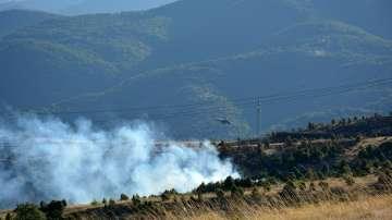 Овладян е пожарът в Кресненското дефиле