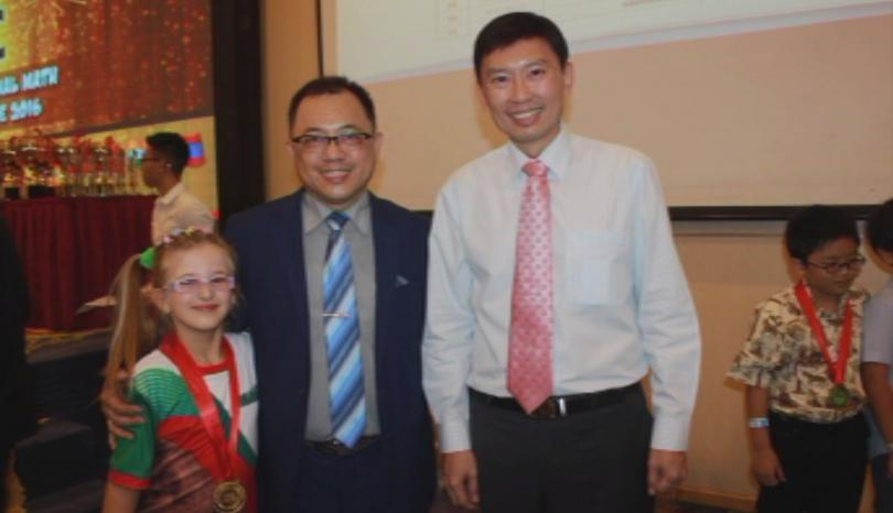 снимка 3 Третокласничка донесе златен медал от Сингапур