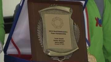 Златни медали за учениците от Софийската математическа гимназия и 125-то училище