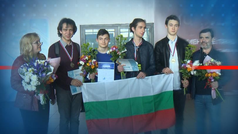 Успех и за българския отбор от ученици на Менделеевската олимпиада