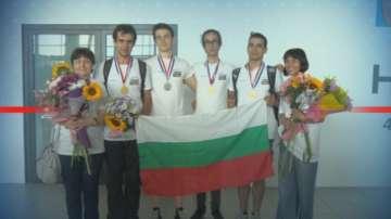 Българчета се върнаха с медали от Олимпиадата по химия в Париж