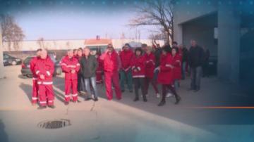 Медиците от Спешната помощ в Русе излязоха на протест