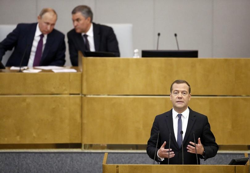 одобриха медведев нов премиерски мандат русия