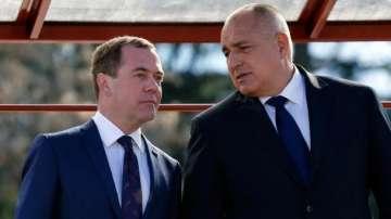 Бойко Борисов се среща с руския премиер Дмитрий Медведев