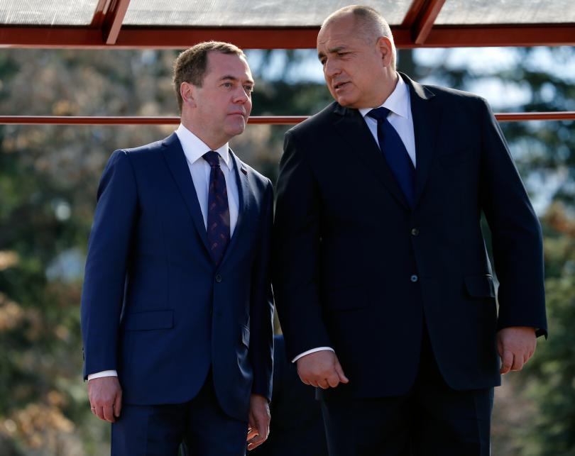 снимка 1 Бойко Борисов се среща с руския премиер Дмитрий Медведев