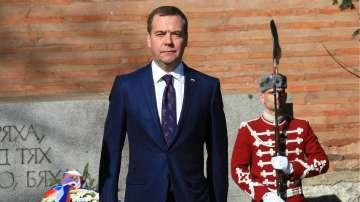 Продължава визитата на руския премиер Медведев у нас
