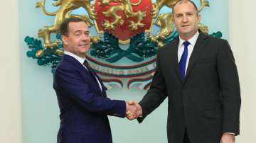 Руският премиер Медведев се срещна и с президента Румен Радев