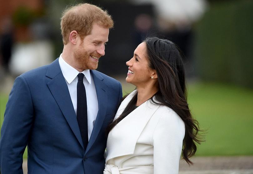 Херцогът и херцогинята на Съсекс принц Хари и Меган Маркъл
