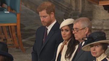 Първа публична проява на Мегън Маркъл и Кралицата заедно