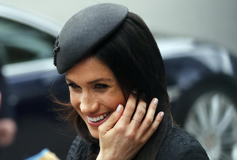 Херцогинята на Съсекс Меган Маркъл се пошегува, че се чувствала