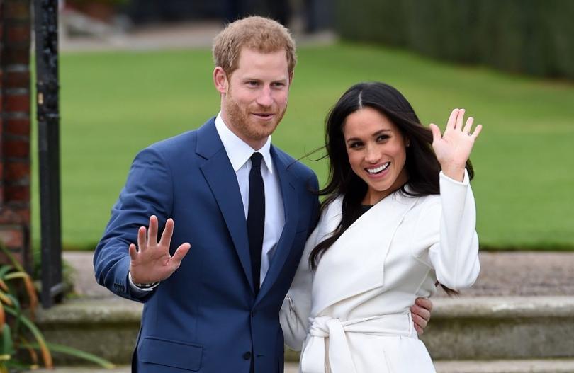 Принц Хари и американската му годеница Меган Маркъл избраха сватбената