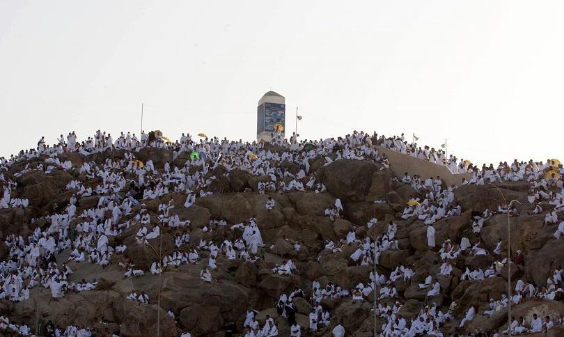 милиона мюсюлмани цял свят събраха хълма арафат mека