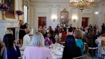 Първата дама на САЩ беше домакин на обяд по случай Международния ден на жената