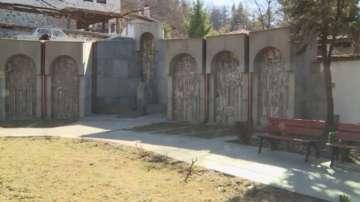 Изцяло обновен е мемориалът на Делчевия род в Благоевград