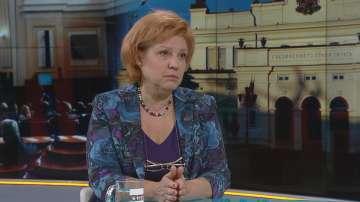 Менда Стоянова очаква 7-8 евродепутати за ГЕРБ след изборите