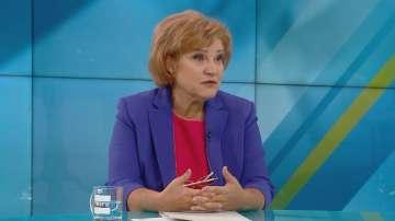 Менда Стоянова: Политическата карта на България е синя, с надпис ГЕРБ