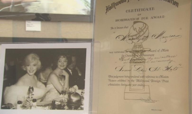 Богата колекция с вещи на Мерилин Монро е изложена в