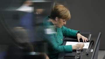 Меркел пред Бундестага преди срещата на върха в Брюксел