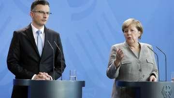 Меркел може да помогне в решаването на граничния спор между Словения и Хърватия