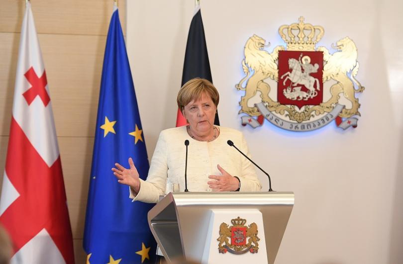 Германската канцлерка Ангела Меркел спомена избиването на 1,5 милиона арменци
