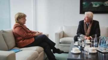 Ангела Меркел се срещна с Ричърд Гиър