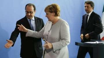 Меркел, Ренци и Оланд се срещанаха за бъдещото на Европа след Брекзит