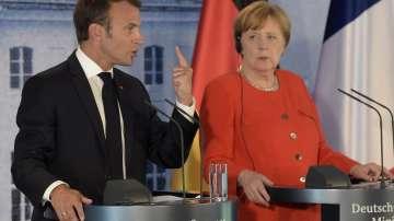 Над четири часа продължи срещата между Меркел и Макрон в Берлин