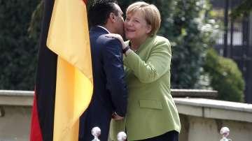 Ангела Меркел пристигна в Македония (СНИМКИ)