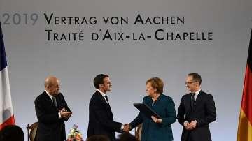 Исторически ход за Германия и Франция с новия договор за партньорство