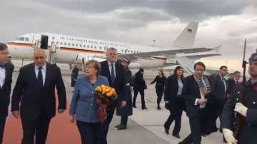 Германският канцлер Ангела Меркел пристигна на работно посещение у нас