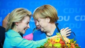 Меркел поздрави Урсула фон дер Лайен за новия пост