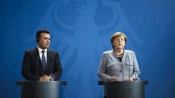 Ангела Меркел е оптимист за изхода от спора за името на Македония