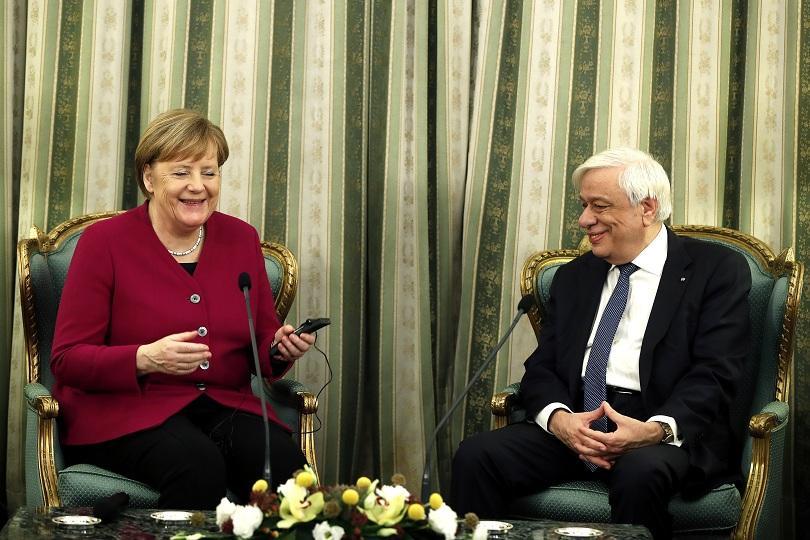 Втори ден от посещението на германския канцлер Ангела Меркел в