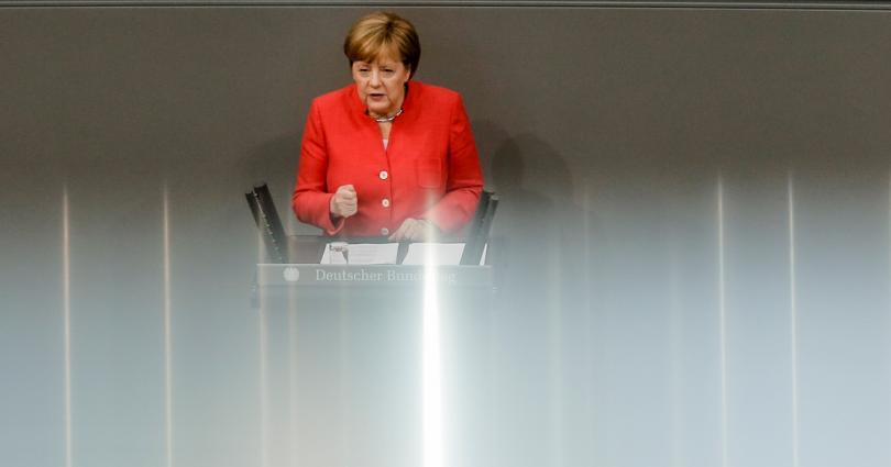Германският канцлер Ангела Меркел днес обяви, че се противопоставя на