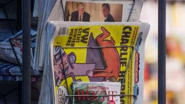 Меркел на корицата на първото немско издание на Шарли Ебдо