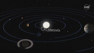 Меркурий премина пред Слънцето