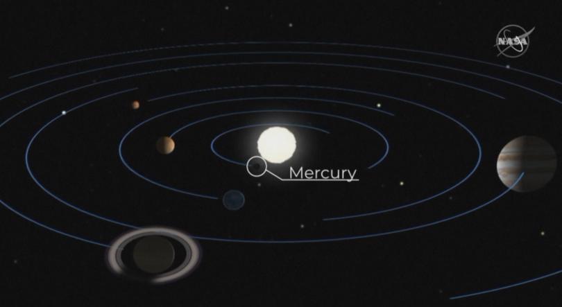 Днес имаше рядко космическо събитие - Меркурий премина пред Слънцето.