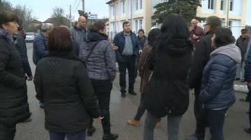 Пернишки села излязоха на протест заради безводието