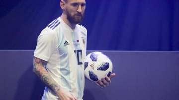 Лионел Меси представи топката за Мондиал 2018