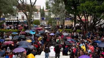 Учителски протести в Мексико