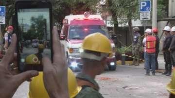 Телефон спаси жена под руините след земетресението в Мексико