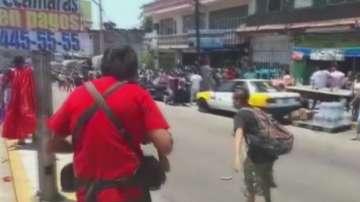 Стрелба по време на католическо шествие в Мексико