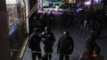 Четирима убити и 9 ранени при стрелба в центъра на мексиканската столица